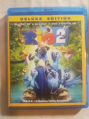 Rio 2 (Blu-ray 3D)    **Combine Shipping & SAVE!          **Ships FAST!!!