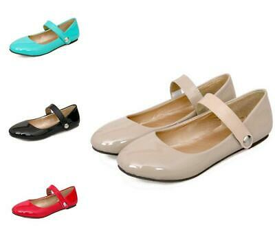 0274892819b8e FASHION WOMENS ANKLE Strap Ballet Flats Mary Janes Summer Shoes Us 5.5-9 Hot