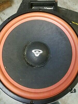 Cerwin vega 12 woofer. RE30 and extra parts