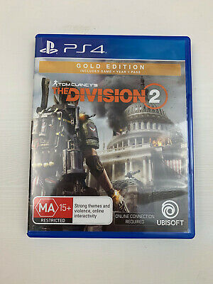 Tom Clancys The Division 2 PS4 Game Aussie Version PAL NEW (Standard Edition)