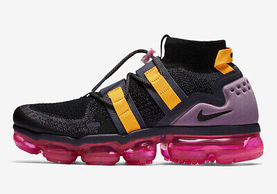 New Mens Nike Air Vapormax Fk Utility Sneakers Ah6834 006 Multiple Sizes