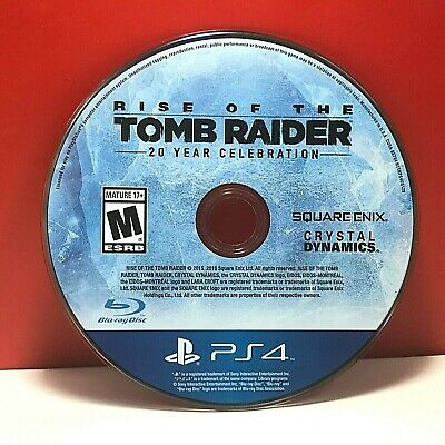 Rise of the Tomb Raider: 20 Year Celebration (PS4, 2016)(DISC ONLY) #20518