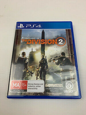 Tom Clancys The Division 2 PS4 Game Aussie Version PAL BRAND NEW