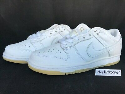half off 95e93 cad92 Nike Dunk Low (LTD) White White-Sport Red 307734-111 Sz7