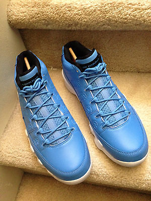 1aced70c2b3a Nike Air Jordan Retro IX 9 Low Pantone University Carolina Blue 832822-401  Sz 9
