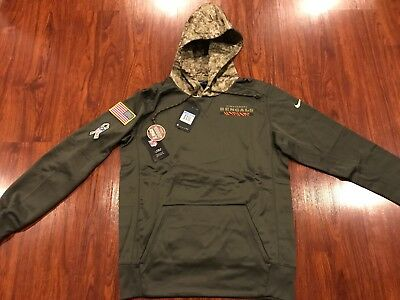 super popular 53896 124e5 NEW $100 NIKE NFL Cincinnati Bengals Salute To Service Camo ...