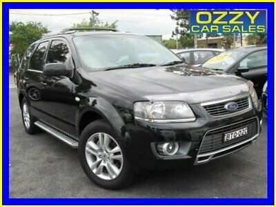 2010 Ford Territory SY MkII TS Limited Edition (4x4) Black Automatic 6sp A