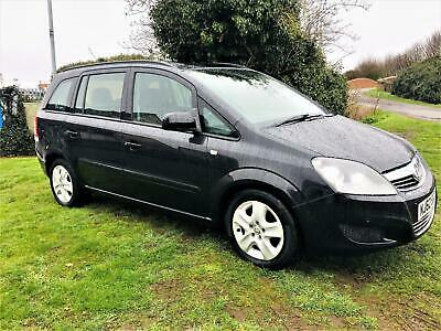 VAUXHALL ZAFIRA 1.7 CDTi ecoFLEX Exclusiv, EXCELLENT LOW MILEAGE EXAMPLE Black M