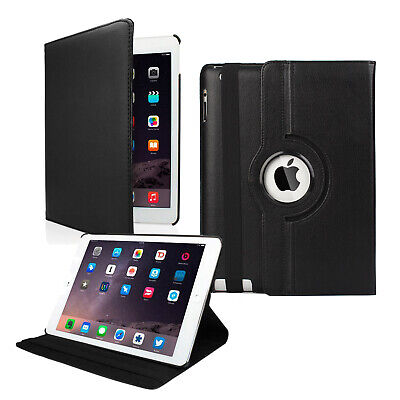 "iPad Case 360 Rotating Stand Flip Cover Fit For iPad 234 Mini Air 2018 9.7"" 10.5"