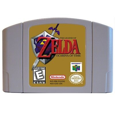 Legend of Zelda: Ocarina of Time N64 US NTSC Version New English Game
