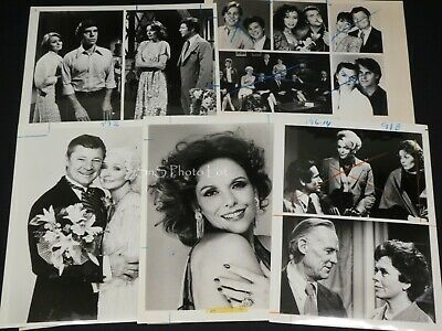 "5 x TV Press Kit Photos ~ 8x10 Soap Opera ""As the World Turns"" Eileen Fulton ++"