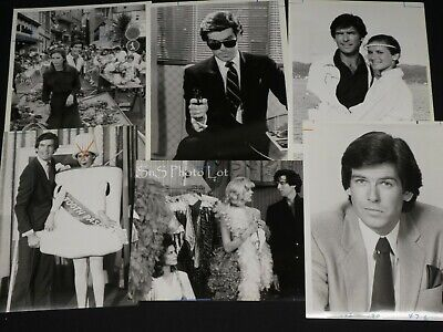 "6 x TV Press Kit Photos ~ 8x10 ""Remington Steele"" Pierce Brosnan S Zimbalist"
