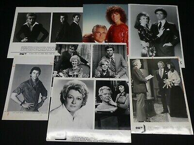 "7 x TV Press Kit Photos ~ 8x10 ""Another World"" Constance Ford Jensen Buchanan +"