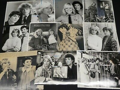 "11 x TV Press Kit Photos ~ 8x10 ""Cagney & Lacey"" Tyne Daly Sharon Gless & More"