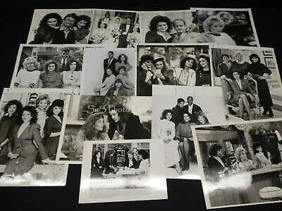 "13 x TV Press Kit Photos ~ 8x10 ""Designing Women"" Delta Burke Annie Potts & More"