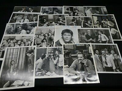 "16 x TV Press Kit Photos ~ 8x10 ""Barney Miller"" Hal Linden Ron Glass & More"
