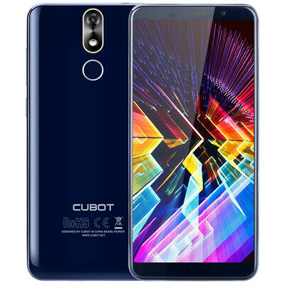 "5.99"" CUBOT Power 18:9 FHD+ 4G Smartphone Android 8.1 6GB+128GB 6000mAh Blue"