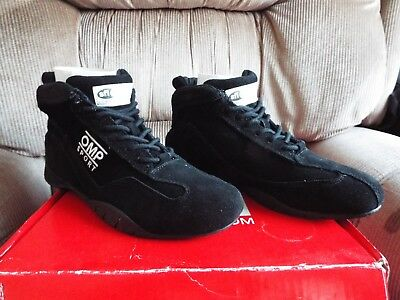 OMP SPORT RACE BOOTS OS50 Shoes size US 7