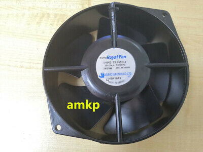 For Royal Fan TR655D-7 VAC 200V50/60Hz29/29W172*150*55mm 2 wires cooling fan#am3