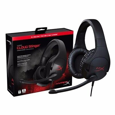 Excelentes Auriculares Gaming HyperX Cloud Stinger para PC PS4 Xbox One Switch