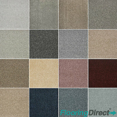 Quality Dublin Twist Pile Carpet - Bedroom Lounge - Action Back - Any Size - 4m