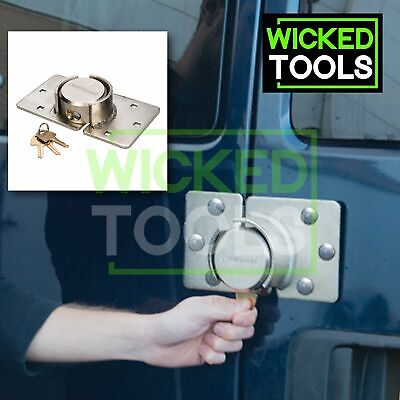 Van Door Lock Heavy Duty 3 Keys High Security Side Rear Doors