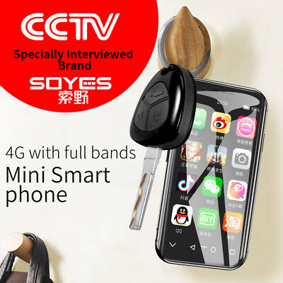 Smallest SOYES XS 4G LTE Full Screen WIFI GPS 3GB+32GB Android 6.0 Smartphone