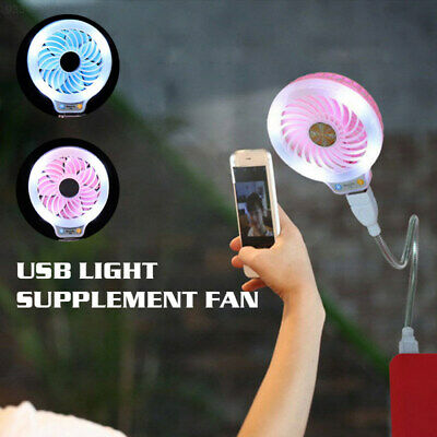 B485 Creative 2 Color Beauty USB Fan Mini Electric Fan USB Photo Props Girl
