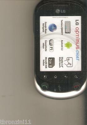 Finto Telefono Da Vetrina - Dummy - Lg Optimus Chat  (Is Not A Phone)