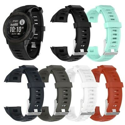 Silicone Wrist Watch Band Strap for Garmin Instinct - 6 Colors - Free Shipping