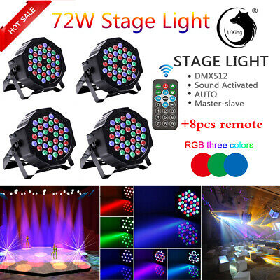 Rvb 5 Double Projecteur Disco Spot Led Fête vmNn08Ow