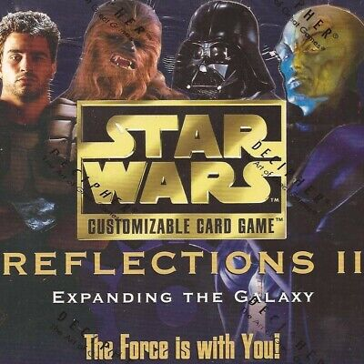 Premium Singles [choose card & condition] REFLECTIONS II star wars ccg swccg