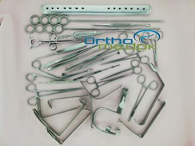 Tonsillectomy Set of 27 pcs Surgical Instruments Grade A+