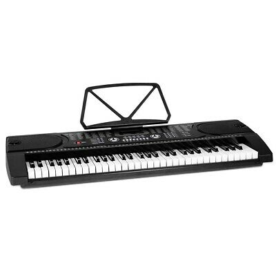 ALPHA 61 Keys LED Electronic Piano Keyboard EK-JK-60-BK-H