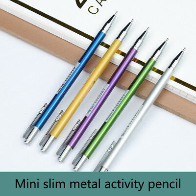 0.5mm Iron Metal-Mechanical Automatic Pencil for Writing Drawing Supply USeful