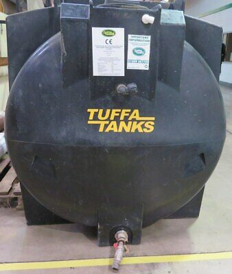 Tuffa Plastic Bunded Tank for Waste Oil Fuel Materials Handling Storage Site