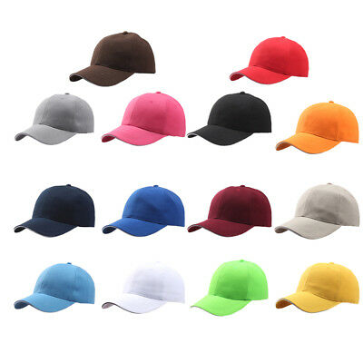 c3f65de60d1 Men Women New Black Baseball Cap Snapback Hat Hip-Hop Adjustable Bboy Caps  JH