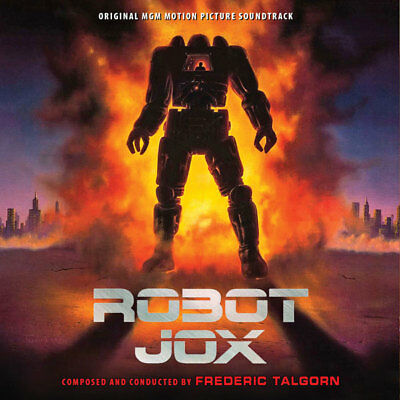 Robot Jox - Complete Score - Limited Edition - Frederic Talgorn