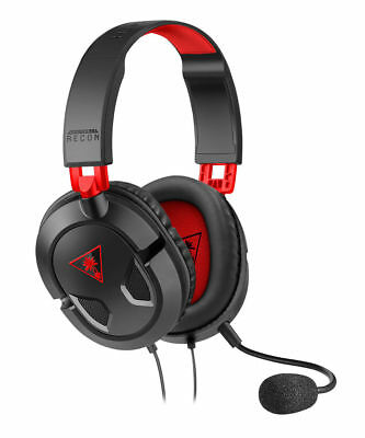 **Turtle Beach** Recon 50X Gaming Headset for PS4 - Xbox Black & Red