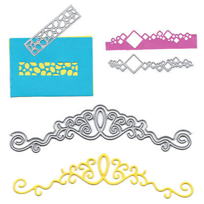 Card Cover Border Decor Metal Cutting Dies Stencils for DIY Scrapbooking ZY