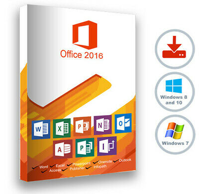 Microsoft Office Professional Plus 2016 | 1 User PC Download