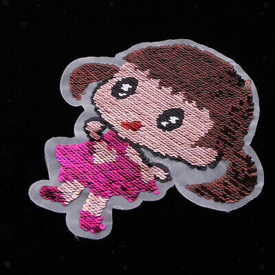 Lovely Little Girls Parches Embroidery Patches for Clothing DIY Appliques