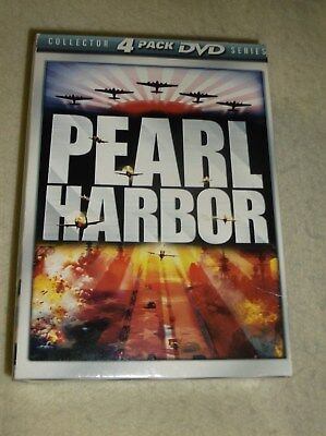 Pearl Harbor 4 pack Collecor's Edition DVD box set