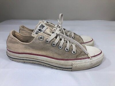 c7872747ed0a VTG Converse All Star Chuck Taylor Men s 6.5 Sneakers Made USA Low Top 70s  80s
