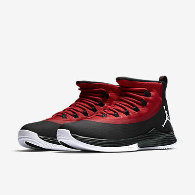 Nike Air Jordan Ultra.Fly 2 Basketball Shoes Black Gym Red White 897998-001 f6d1880e2