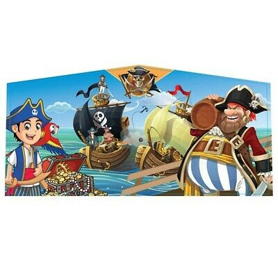 Pleasant Pirate Art Panel 13X13 Inflatable Modular Bounce House Detachable Vinyl Home Interior And Landscaping Ferensignezvosmurscom