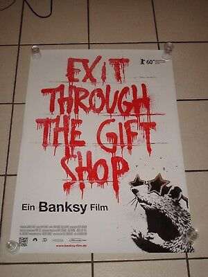 BANKSY exit through the gift shop Promo PACK (incl poster, stickers, DVD, cards
