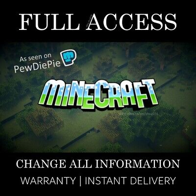 Minecraft Java Edition | FULL ACCESS Premium Account | INSTANT DELIVERY