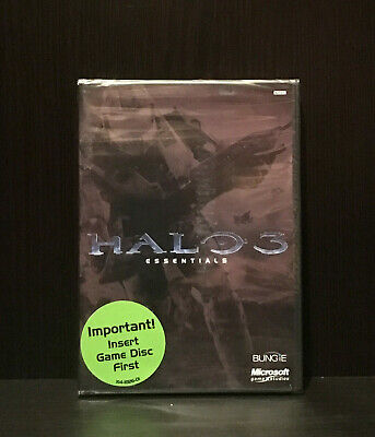 Halo 3: Essentials (Xbox 360, 2007) - Brand New / Sealed