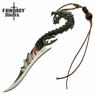"FANTASY MASTER FM-663 FIXED BLADE KNIFE 8"" OVERALL Item #: FM-663"